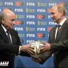 الرئيس بوتين يهنيء بلاتر بعد إعادة انتخابه رئيسا للفيفا
