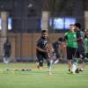 منتخبنا الاولمبي يواصل اعداده في ملعب الأمير فيصل بن فهد