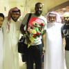 بالصور : وليد عبدالله يصل الرياض و يبدأ برنامجه التأهيلي