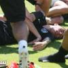لاعب جزائري يتعرض لحالة إغماء بسبب الصيام