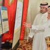 بالصور : رئيس الهلال يزور الخيمة الرمضانية لجمعية البر بالعريجاء