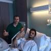 العنزي يجري جراحة بالمنظار في لندن