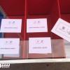 صورة..عضو يشارك بقميص رونالدو في انتخابات برشلونة