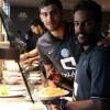 بالصور : دونيس يحرص على البرنامج الغذائي للاعبي الهلال