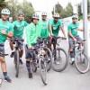 بالصور : الدراجات الهوائية ترفع المعدل اللياقي للاعبي الاهلي