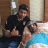 محترف الرائد امجد راضي يجري عملية جراحية في الانف