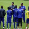 بالصور : النصر يتدرب على فترتين والإدارة تجتمع بداسيلفا واللاعبين