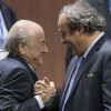 """الفيفا يعاقب بلاتر وبلاتيني بالإيقاف لـ """"ثمان"""" سنوات"""