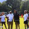 بالصور : تدريبات لياقية في الاتحاد وبوبا تفحص اللاعبين