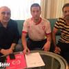 بالصور : الوحدة يوقع مع السوري الباعور ويجدد عقد قائده برناوي