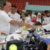 الأردنيون من مختلف الأعمار يحتفلون باليوم الأولمبي