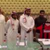 حمد الحمد يوقع للرائد والخضير يشكر رئيس الهلال