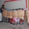 بر القريات توزع 1400 حقيبة مدرسية