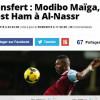 ليكيب الفرنسية تبرز تعاقد النصر مع المالي موديبو مايغا