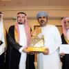 الأمير عبدالله بن سعد يتوج خليل البلوشي بجائزة زاهد قدسي للتعليق الرياضي