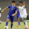 بالصور : أخضر الناشئين يكتسح الكويت برباعية ويطير لمواجهة عمان في النهائي