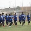 المصري يحث لاعبيه على مضاعفة الجهد قبل لقاء الاتفاق