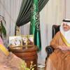أمير المنطقة الشرقية يستقبل الرئيس العام لرعاية الشباب