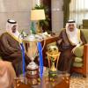 أمير الرياض يستقبل إدارة و منسوبي نادي الهلال