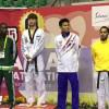 المبروك يهدي التايكوندو السعودية أول فضية