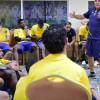 التعاون يؤدي مران استرجاعي ومحاضرة طبية للاعبين