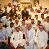 بالصور : الطلبة السعوديين يحتفون بـ (اخضر الصالات) في كوالالمبور