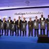 عشرة لاعبين يروجون لليجا الاسبانية في دبي