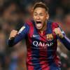 نيمار يحتفل باللقاء رقم 100 مع برشلونة