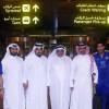 بالصور : بعثة النصر تصل الى الدوحة وفي استقبالهم اداري الريان