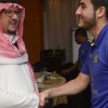 بالصور : النصر يختتم إعداده لودية الريان والأمير فيصل يتواجد مع البعثة