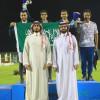 ثلاثية سعودية في فردي الخليجية و المبطي يخطف الذهب