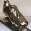 مجسم جديد للحذاء الذهبي لجريدة الخبر الجزائرية