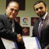 """النجاح للمشاريع توقع اتفاقية شراكة مع """"الليجا الاسبانية """" بمدريد"""