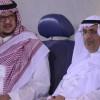 بالصور : عضو شرف النصر الأمير سيف الاسلام وكانافارو يحضرون التدريبات ويلتقون باللاعبين