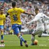 ريال مدريد يكسب لاس بالماس ويواصل صدارته