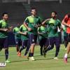 بالصور : غروس يركز على التكتيك والكرات الثابتة في مران الأهلي بحضور رئيس النادي السابق