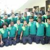 بعثة فريق الأهلي الأولمبي لكرة القدم تغادر إلى عجمان الإماراتية