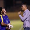 بالصور : النصر يكثف اللياقة بتدريبات الصالة والبرازيلي إيدير يزور النادي