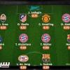 ثلاثي بايرن وثنائي برشلونة في تشكيلة الجولة بدوري الأبطال