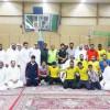 عشاق أُحــد يُقيمون إحتفالاً لفريق كرة القدم للصالات بمناسبة صعوده للدوري للممتاز