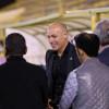 بالصور : الانجليزي ويب مدير دائرة التحكيم يزور نادي النصر