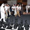 منصور بن محمد يفتتح فعاليات مجلس دبي الرياضي في اليوم الرياضي الوطني
