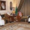 الرئيس العام يستقبل إدارة و أعضاء شرف نادي نجران