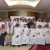 الرئيس الشرفي الراشد في مقدمت الاجتماع مع هيئة أعضاء الشرف