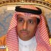 القناص يشكر الأمير عبدالله بن مساعد