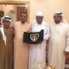 مجموعة الوفاء الاتحادية تكرم الكابتن محمد حسام الدين