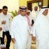 عميد كلية الطب في جامعة الملك عبدالعزيز واعضاء هيئة التدريس يزورون المركز الاعلامي بالنادي الاهلي