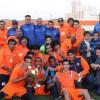 أولمبي الفيحاء بطلاً لمكتب المجمعة