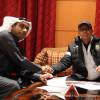 بالصور : الاتفاق يوقع رسمياً مع المدرب بلقاسم والبرازيلي ريكاردينهو