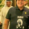 مارادونا يبحث عن عمل في دبي !!